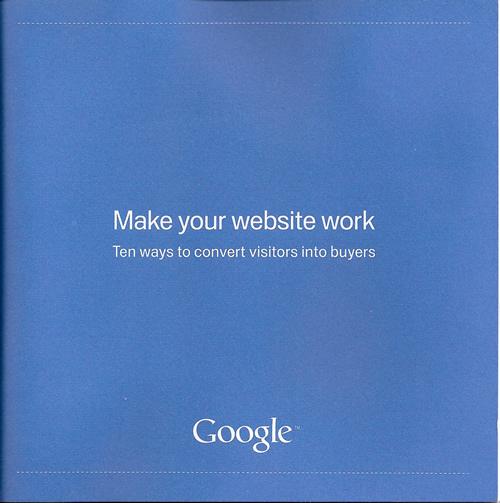 Make you website work Google